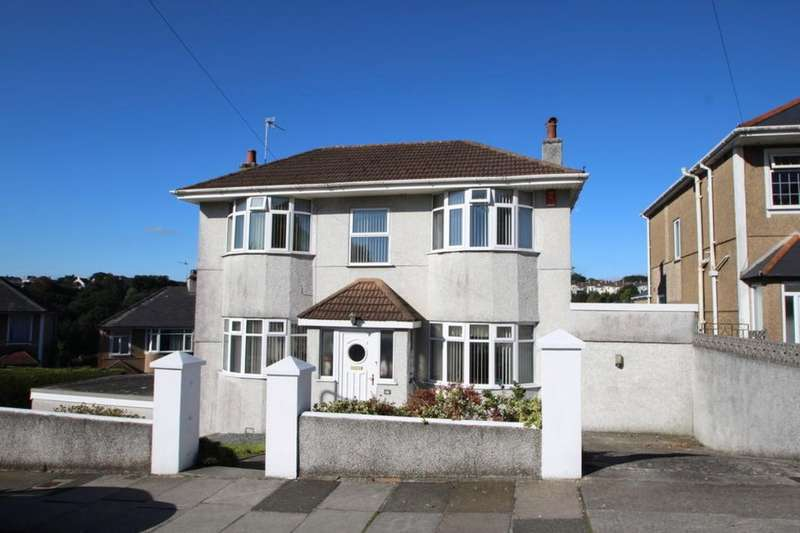 4 Bedrooms Detached House for sale in Efford Crescent, Higher Compton, Plymouth, PL3