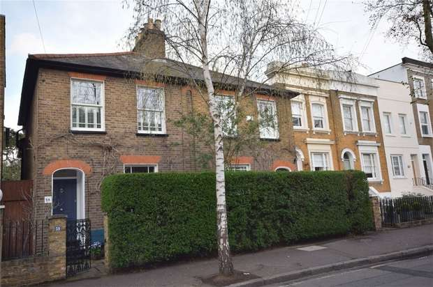 4 Bedrooms Semi Detached House for sale in Arragon Road, Twickenham