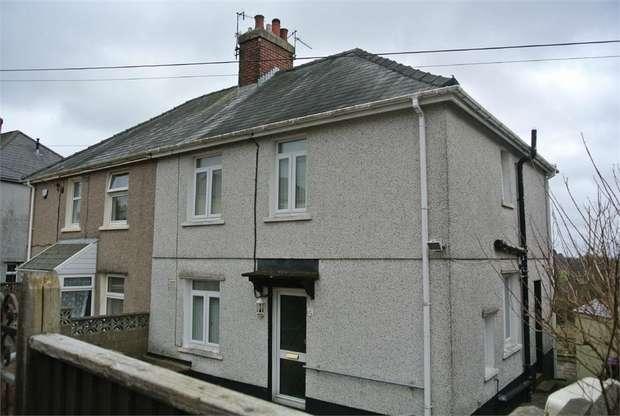 3 Bedrooms Semi Detached House for sale in Park Crescent, Penygarn, PONTYPOOL, Torfaen