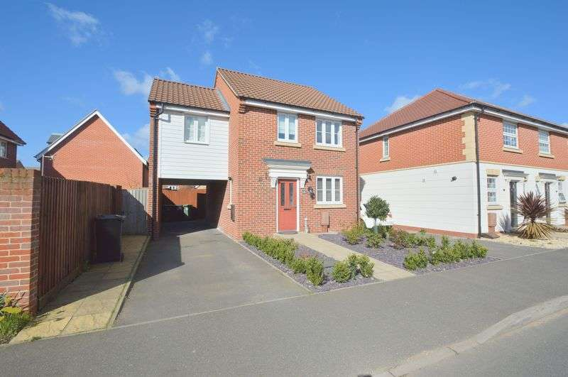 3 Bedrooms Detached House for sale in Lord Nelson Drive, The Hampdens, Norwich