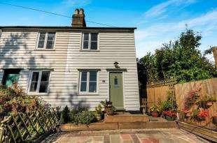 2 Bedrooms Semi Detached House for sale in Elm Cottages, Swanley Village Road, Swanley, Kent