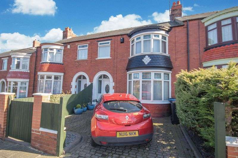 3 Bedrooms Terraced House for sale in Grosvenor Road, Linthorpe, Middlesbrough, TS5 5BU