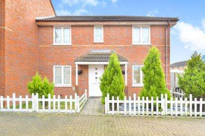 4 Bedrooms Semi Detached House for sale in Coles Avenue, Leadenhall, Milton Keynes, Buckinghamshire