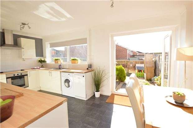 3 Bedrooms Terraced House for sale in Cherington, Yate, BS37 8UX