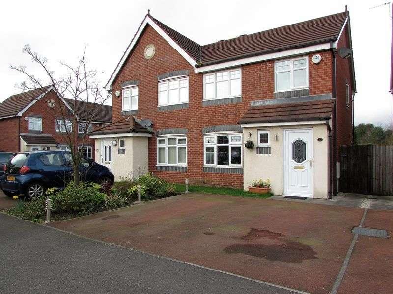 3 Bedrooms Semi Detached House for sale in Astbury Close, Bury