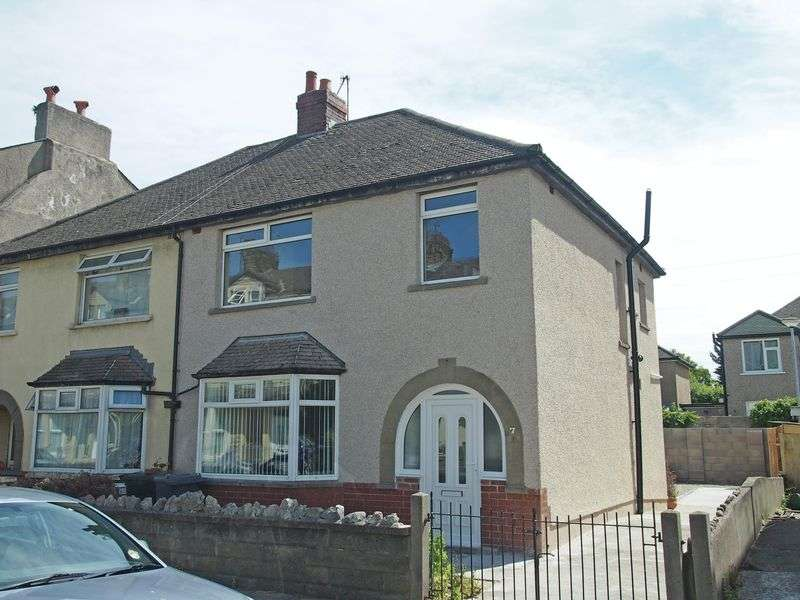 3 Bedrooms Semi Detached House for sale in Arnside Crescent, Morecambe