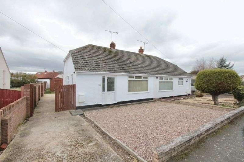 2 Bedrooms Semi Detached Bungalow for sale in Penley Avenue, Prestatyn