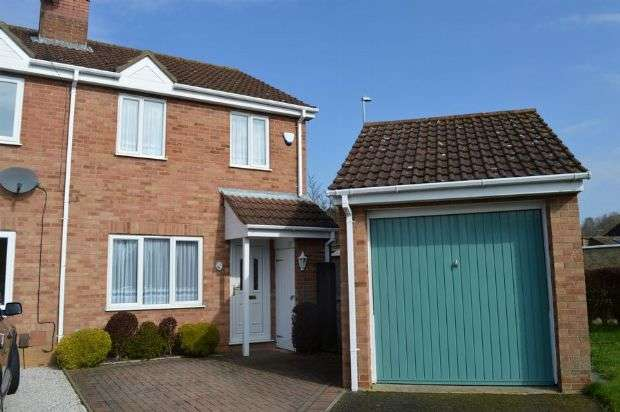 3 Bedrooms Semi Detached House for sale in Shelford Close, The Glades, Northampton NN3 8UF