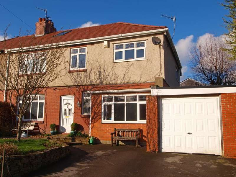 4 Bedrooms Semi Detached House for sale in Ashbourne Lane, Chapel-en-le-Frith, High Peak, Derbyshire, SK23 0PA