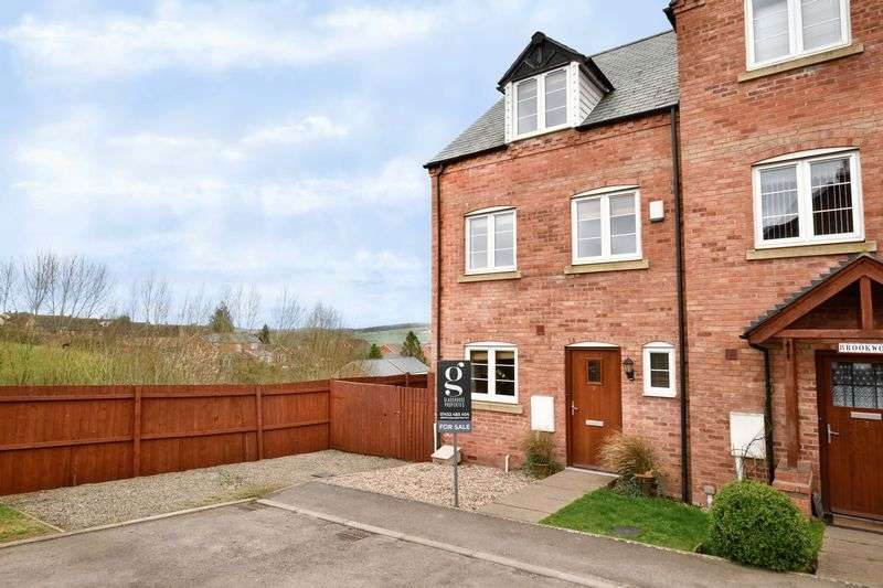 4 Bedrooms Terraced House for sale in Kempson View, Bromyard, Herefordshire, HR7 4FN