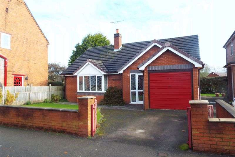 2 Bedrooms Detached Bungalow for sale in 51 Mill Road, Cheadle, Stoke-On-Trent