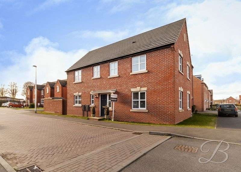 4 Bedrooms Detached House for sale in Coral Crescent, Warsop
