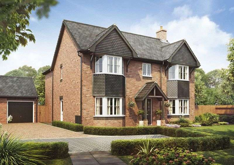 4 Bedrooms Detached House for sale in Plot 137, The Oak,, Barley Fields, Uttoxeter