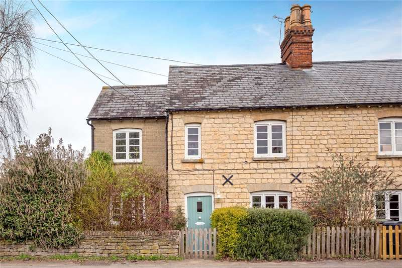 3 Bedrooms Terraced House for sale in Main Road, Fyfield, Abingdon, Oxfordshire, OX13
