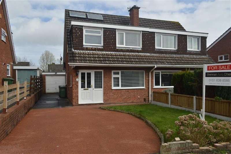 3 Bedrooms Semi Detached House for sale in Farndon Way, Oxton, CH43