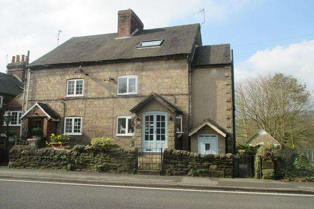 2 Bedrooms Cottage House for sale in Matlock Road, Broadholme, Belper, DE56