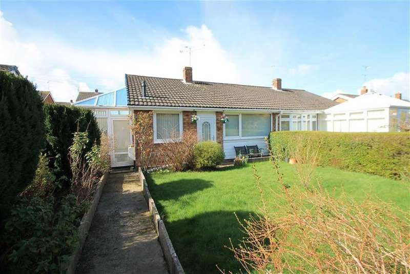 2 Bedrooms Semi Detached Bungalow for sale in Ffordd Madoc, Llay, Wrexham