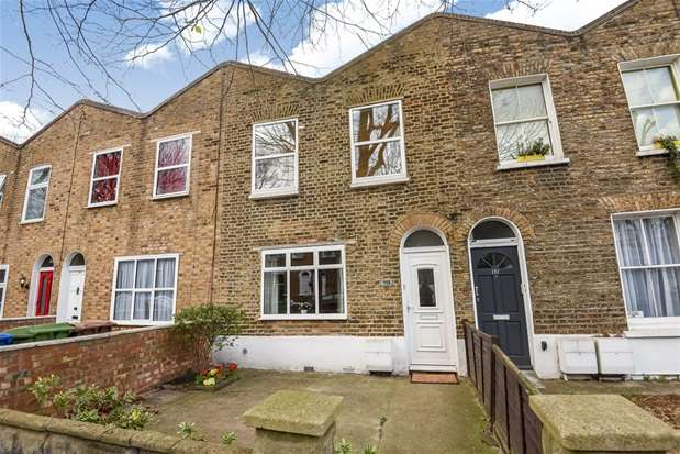 3 Bedrooms Terraced House for sale in Fort Road, London