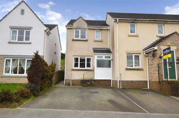2 Bedrooms End Of Terrace House for sale in Bishops Close, Saltash, Cornwall