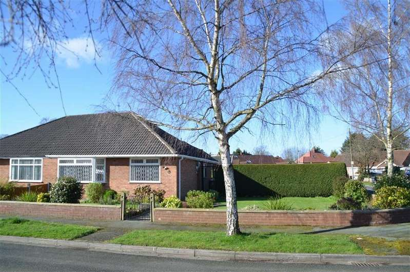 3 Bedrooms Semi Detached Bungalow for sale in Derwent Drive, Childer Thornton, CH66