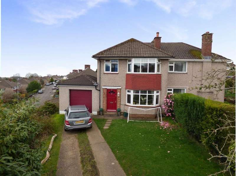 3 Bedrooms Semi Detached House for sale in Muirfield Drive, Mayals, Swansea, SA3