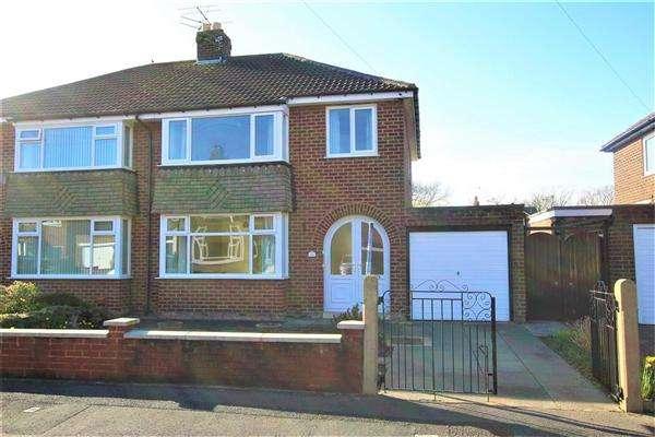 3 Bedrooms Semi Detached House for sale in Brindle Close, Bamber Bridge, Preston