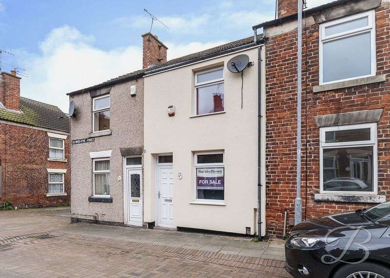 2 Bedrooms Terraced House for sale in Co Operative Street, Stanton Hill, Sutton-In-Ashfield