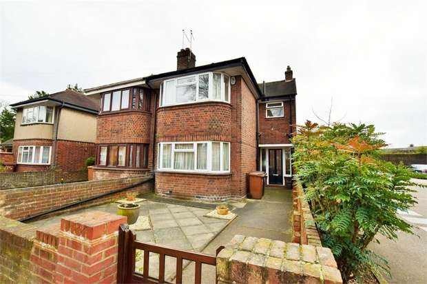 3 Bedrooms End Of Terrace House for sale in Wellingborough Road, Abington, NORTHAMPTON