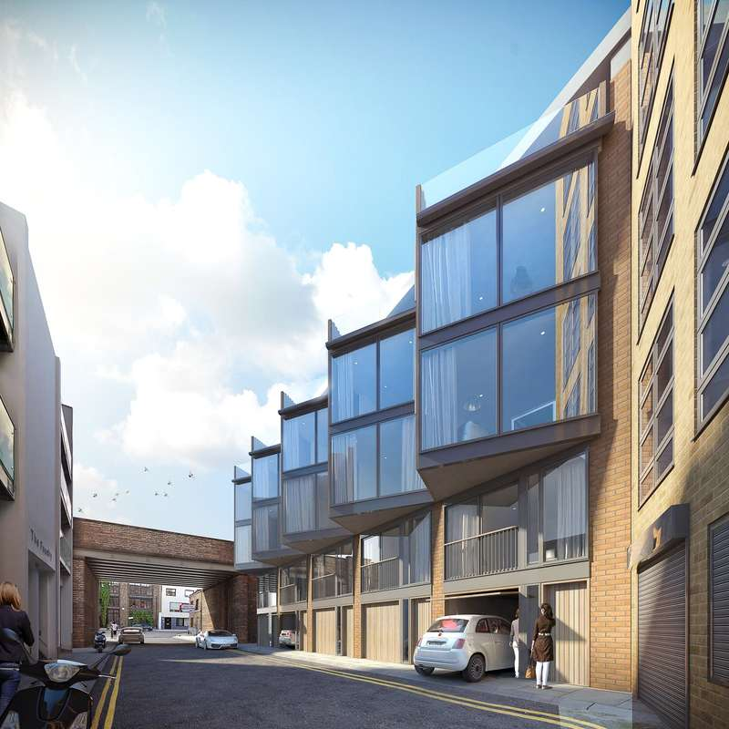 2 Bedrooms Flat for sale in Dereham Place, Shoreditch, EC2A