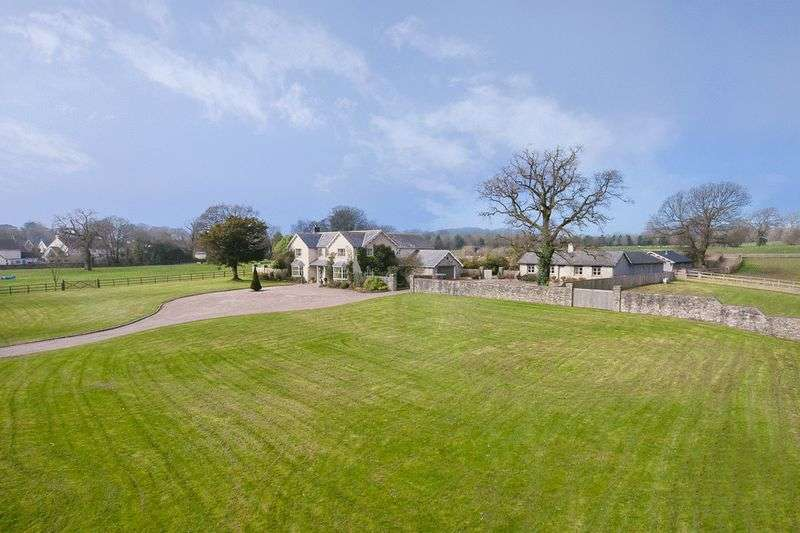 6 Bedrooms Detached House for sale in Court Farm, Bonvilston, Nr Cowbridge, Vale of Glamorgan CF5 6TR