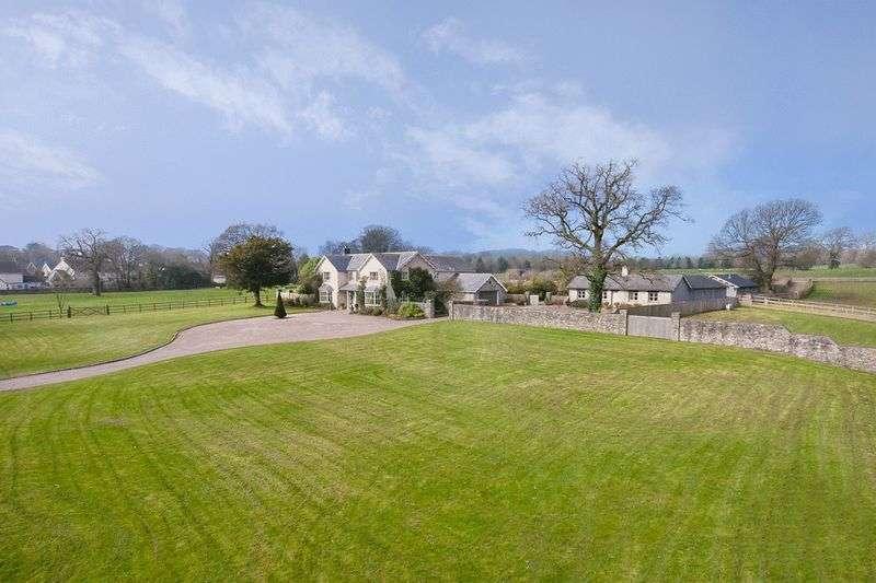 6 Bedrooms Detached House for sale in Court Farm, Bonvilston, Nr Cowbridge, Vale of Glamorgan CF5 6TR