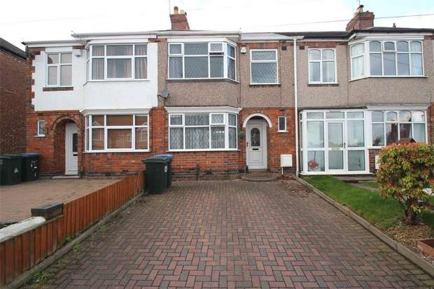 3 Bedrooms Terraced House for sale in Clovelly Road, Wyken, Coventry