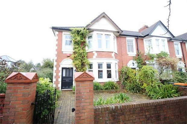 4 Bedrooms Semi Detached House for sale in Broadwalk, Caerleon, NEWPORT