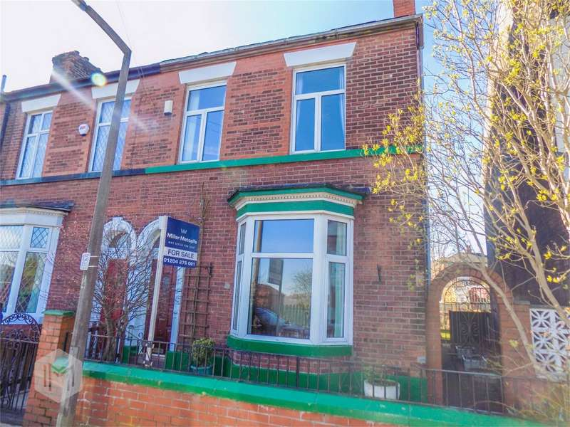 3 Bedrooms Semi Detached House for sale in Bridge Street, Farnworth, Bolton, Lancashire