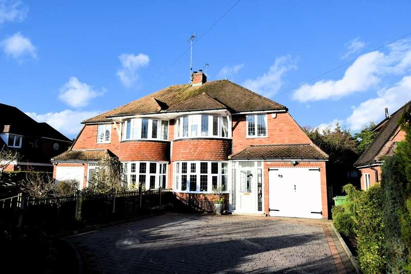 3 Bedrooms Semi Detached House for sale in Dorchester Road, Solihull