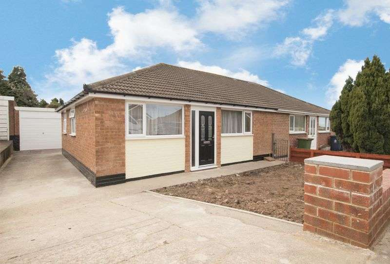 2 Bedrooms Semi Detached Bungalow for sale in Lodge Road, Eston, Middlesbrough, TS6 9LS
