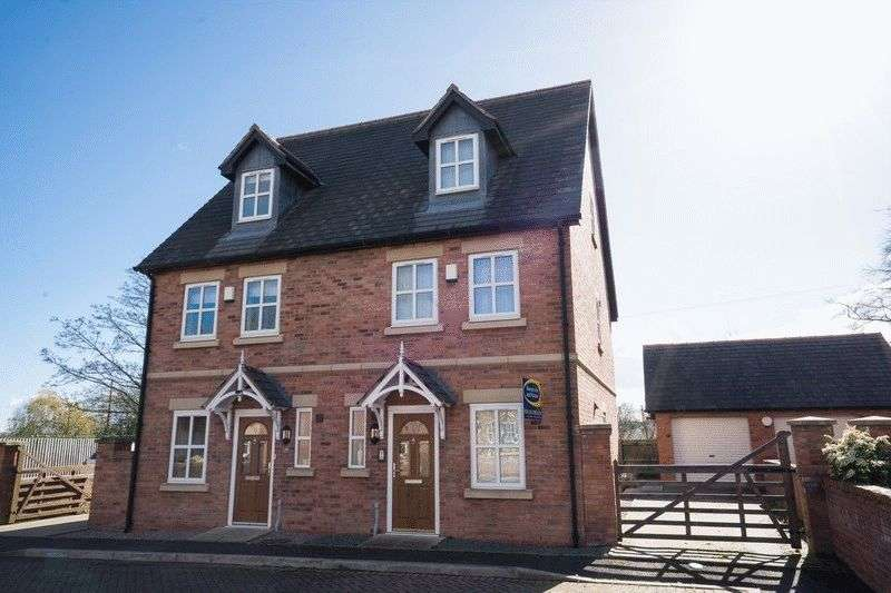3 Bedrooms Semi Detached House for sale in Chapel Gardens,