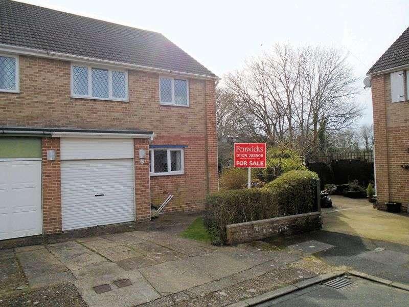3 Bedrooms Semi Detached House for sale in Glenesha Gardens, Fareham