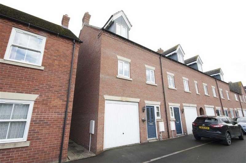 3 Bedrooms Town House for sale in Sutton Bridge, Sutton Park, Shrewsbury, Shropshire