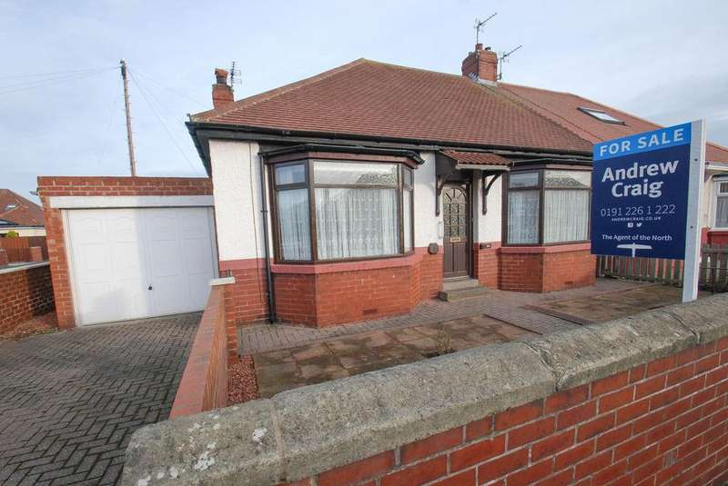 2 Bedrooms Bungalow for sale in Highfield Road, South Shields