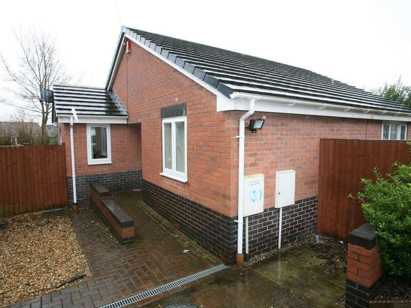 2 Bedrooms Detached Bungalow for sale in 430 Littleworth Road, Hednesford, WS12 1JB