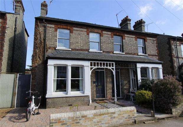 4 Bedrooms Semi Detached House for sale in Kimberley Road, Cambridge