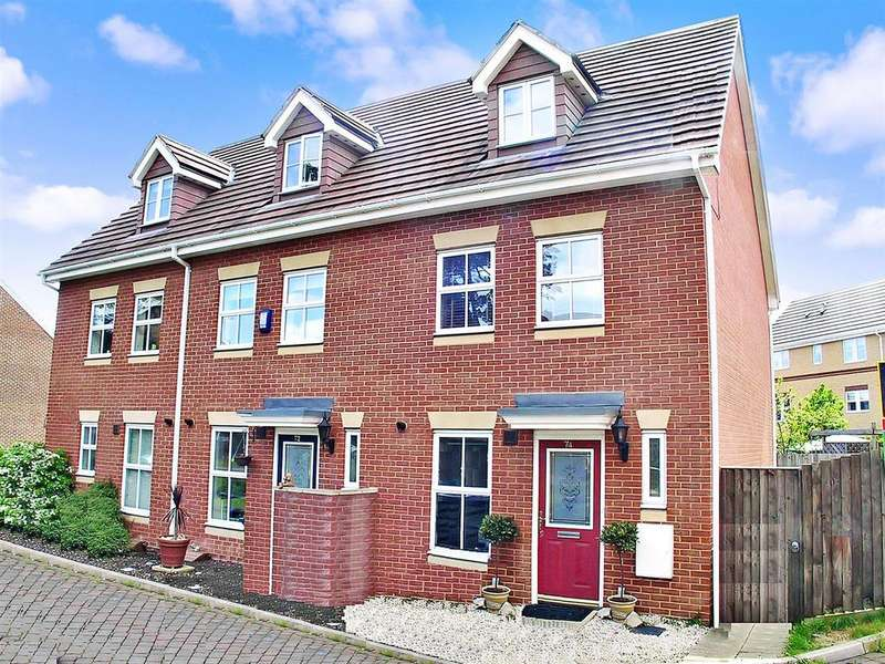 3 Bedrooms End Of Terrace House for sale in Pinewood Place, Bexley Park DA2 7WQ