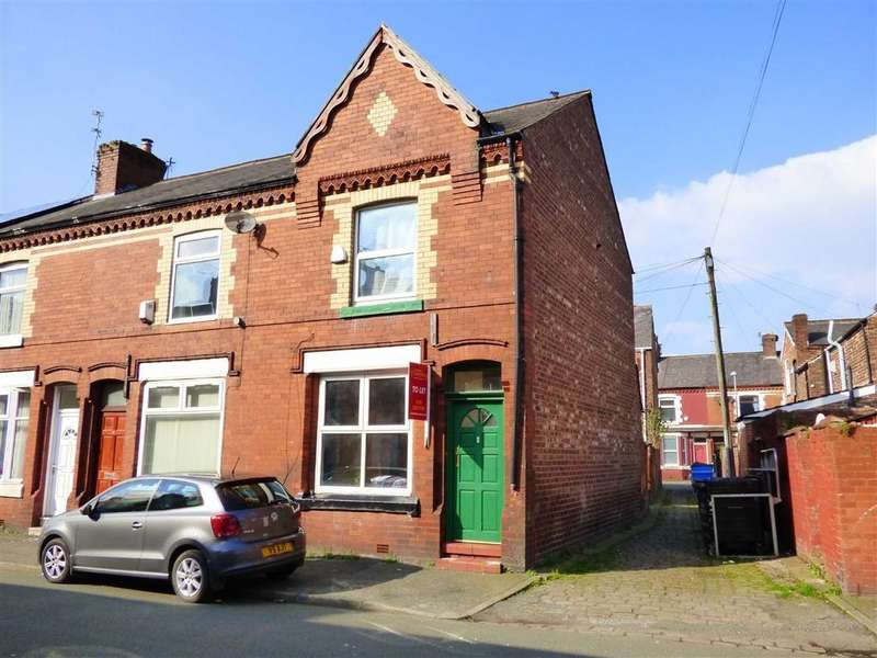 2 Bedrooms End Of Terrace House for sale in Boscombe Street, Fallowfield, Manchester, M14