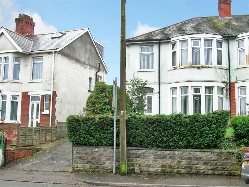 3 Bedrooms Semi Detached House for sale in Wentloog Road, Rumney, Cardiff