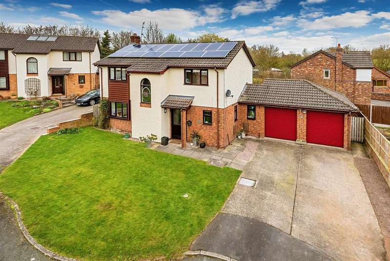 4 Bedrooms Detached House for sale in Henlle Gardens, Gobowen, Oswestry