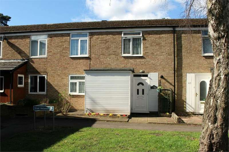 3 Bedrooms Terraced House for sale in Claverdon, Bracknell, Berkshire