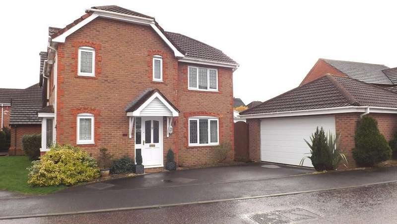 3 Bedrooms Detached House for sale in Larkfield Grove, Chepstow