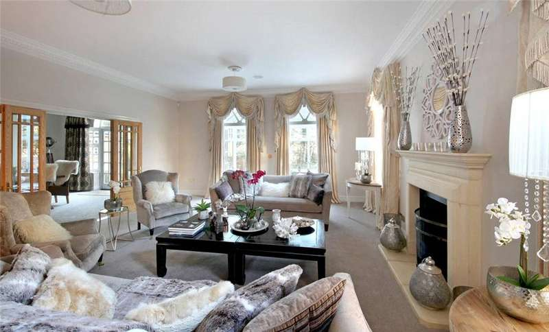 5 Bedrooms Detached House for sale in Alpine Close, Hancocks Mount, Ascot, Berkshire, SL5