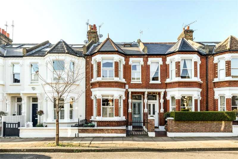4 Bedrooms Terraced House for sale in Dault Road, London, SW18